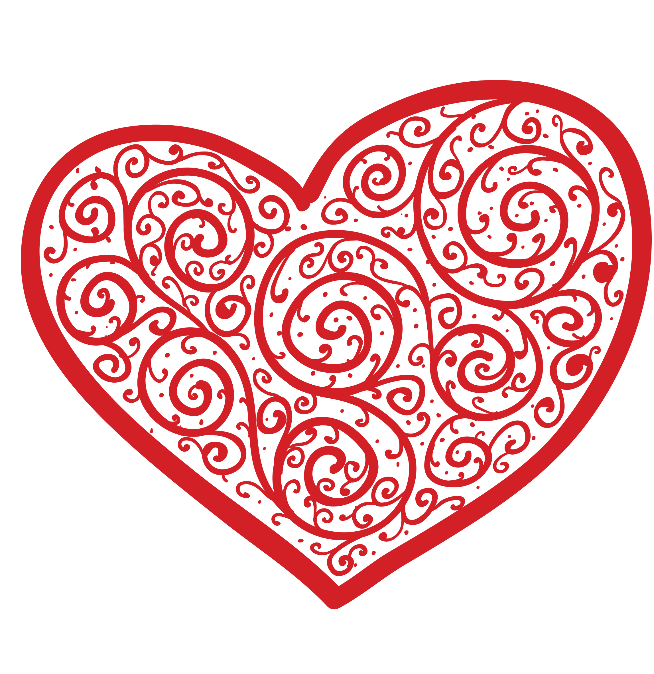 Vector Heart 5