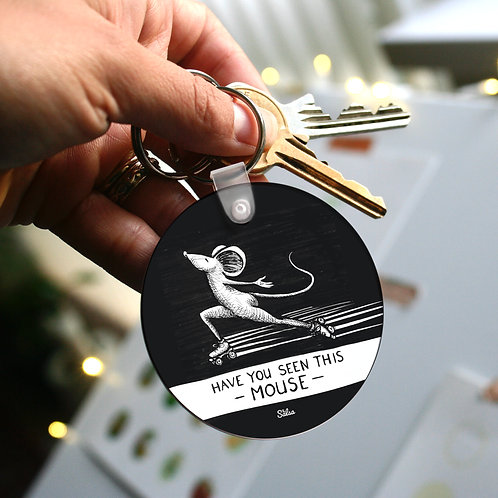 Have You Seen This Mouse Keyring