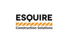 Esquire Construction Solutions Logo Design