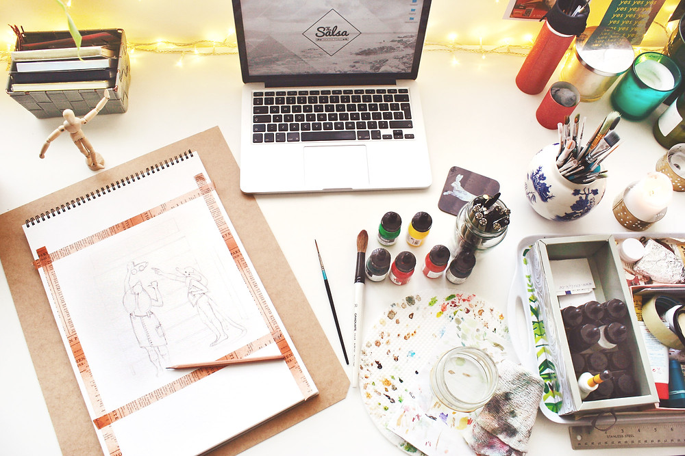 Artists Desk: How to break a creative block