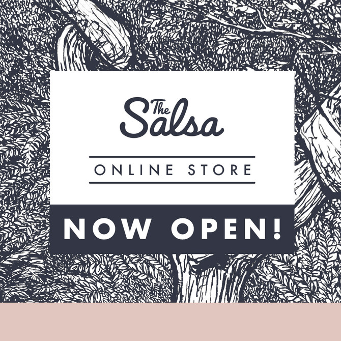 The Salsa Online Store Now Open!