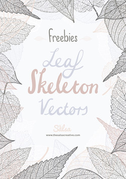 leaf-skeleton-vectors