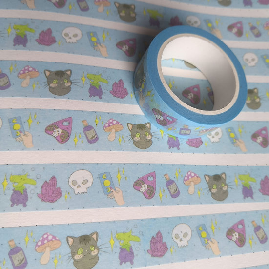Pastel Witch Washi Tape