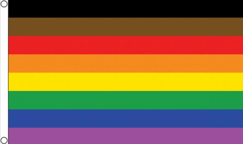 More Colour More Pride Flag