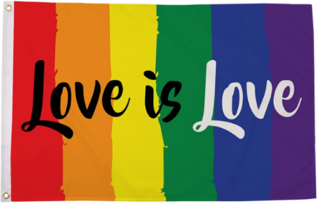 Love is Love Pride Flag