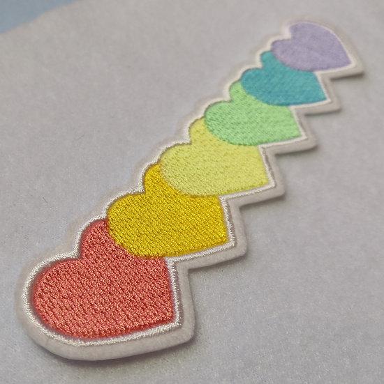 Pastel Heart Patch