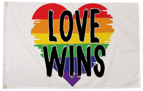 Love Wins Pride Flag