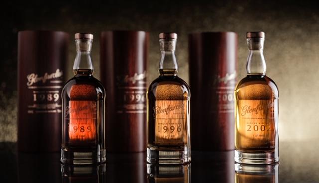 three mini bottles