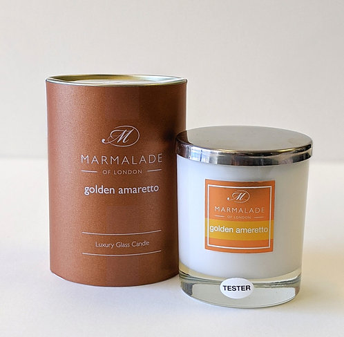 Golden Amaretto Candle