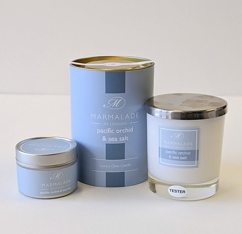 Pacific Orchid & Sea Salt Candle