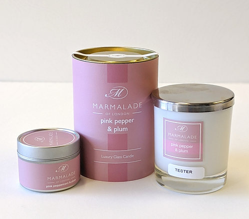 Pink Pepper & Plum Candle