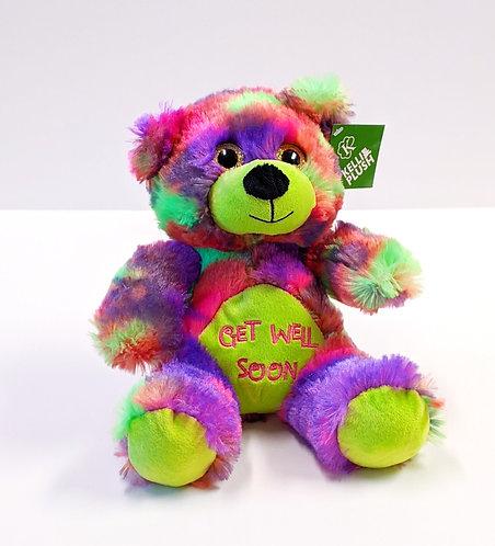 Tie Dye Get Well Bear (Multicolor)