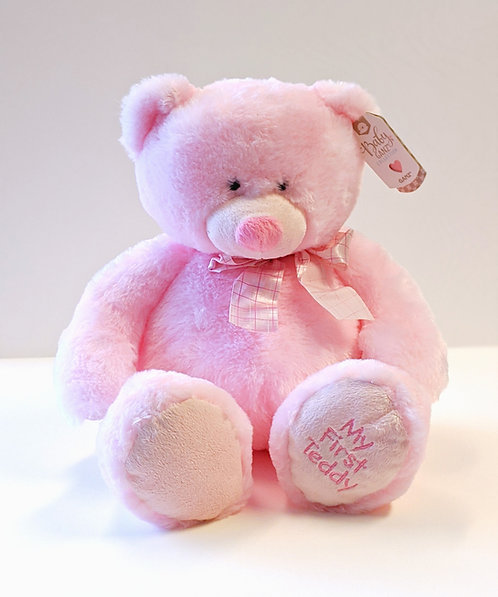 Large My First Teddy (Pink)