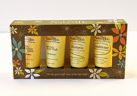 The Naked Bee Travel Gift Set