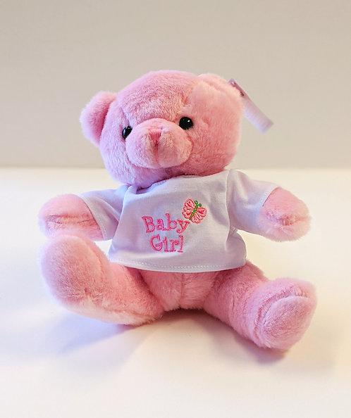 Baby Girl T-Shirt Bear