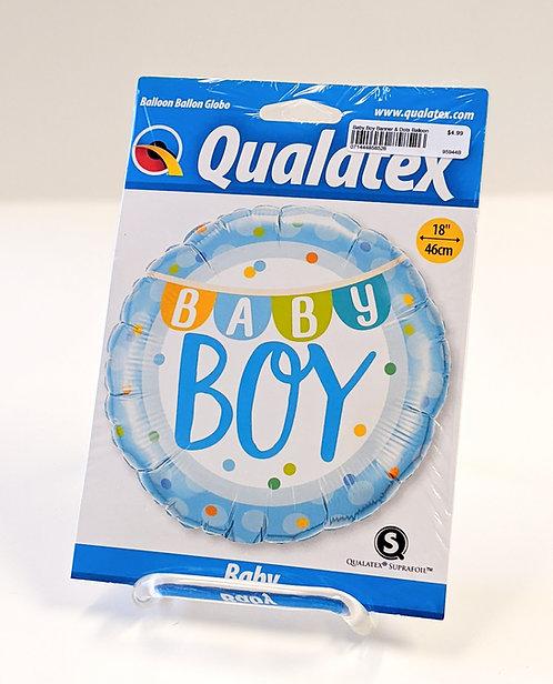 Baby Boy Balloons
