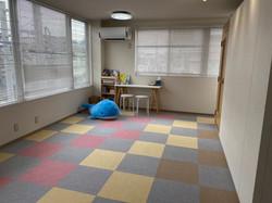 さいたま市緑区ふじまきピアノ教室の待合室