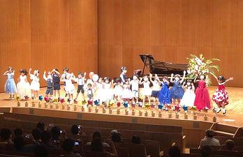 さいたま市緑区原山のピアノ教室ふじまきピアノ教室発表会風景