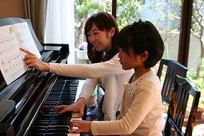 さいたま市緑区原山のピアノ教室ふじまきピアノ教室の無料体験レッスンの様子