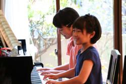 さいたま市緑区原山のピアノ教室 藤巻ピアノ教室のレッスの様子2
