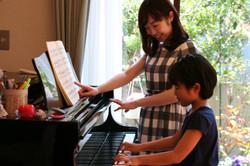 さいたま市緑区原山のピアノ教室 藤巻ピアノ教室のレッスの様子4