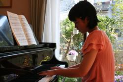 さいたま市緑区原山のピアノ教室 藤巻ピアノ教室のレッスの様子3