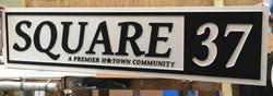 Square 37 - HOA signage