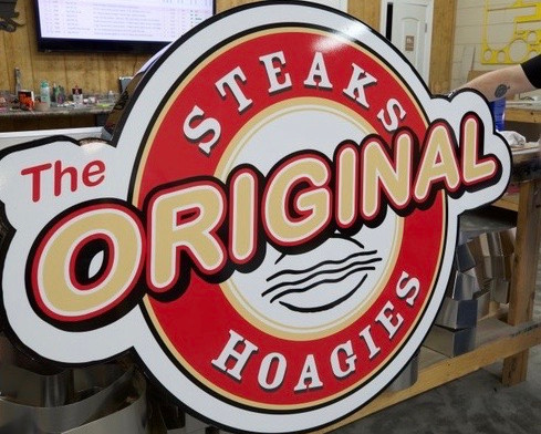 The Authentic Cheese Steak Logo, OH
