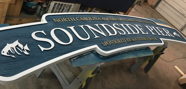 NC Aquarium -Soundside Pier