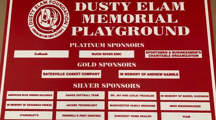 Dusty Elam Memorial Playground, TN