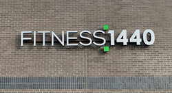 Fitness 1440 Channel Sign