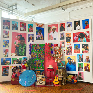 The Bedstuy Social 'Photo' Club Installation