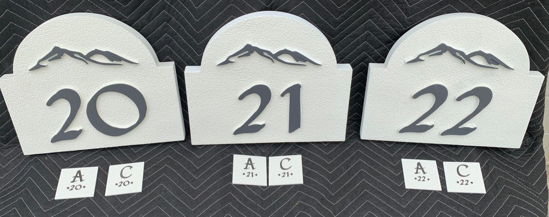 Apartment & ADA Signage