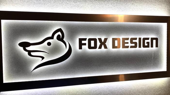 Fox Design Halo-lit Sign