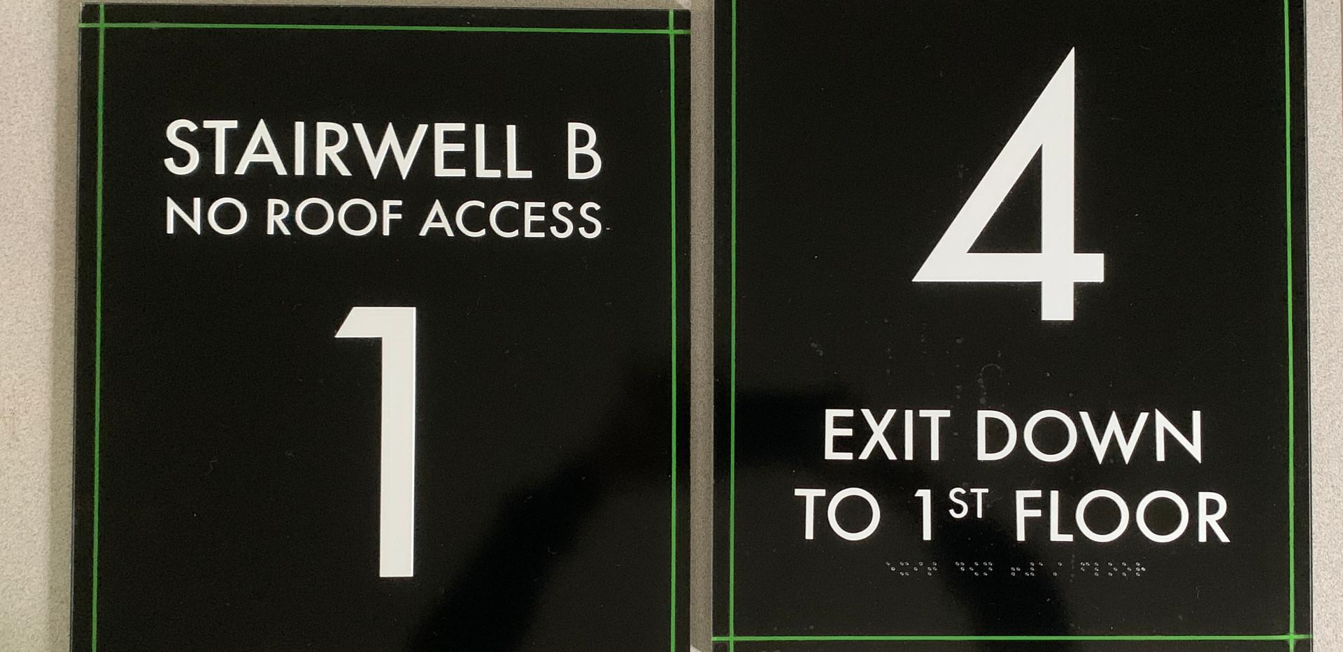 ADA Wayfinding Signs