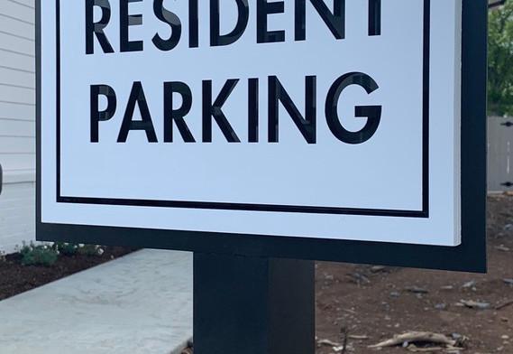Future Resident Apartment Sign_
