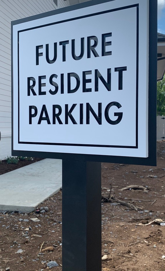 Future Resident Apartment Sign_