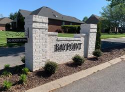 Baypoint - Aluminum Cut Letters