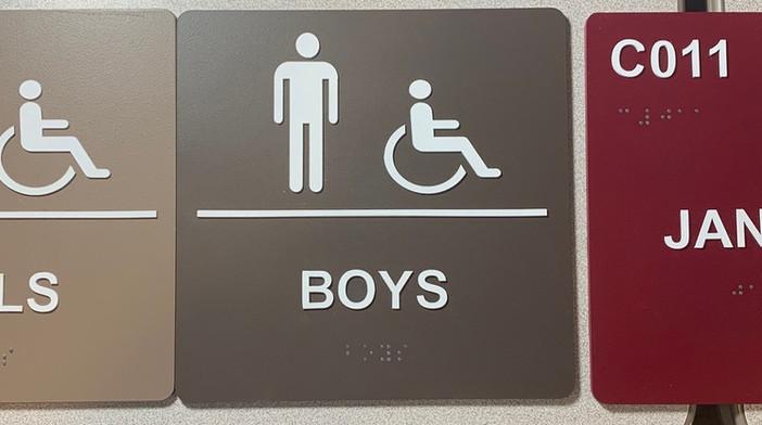 ADA signage for schools