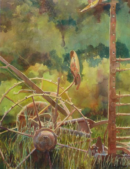 No 3 - 26x20 - watercolor