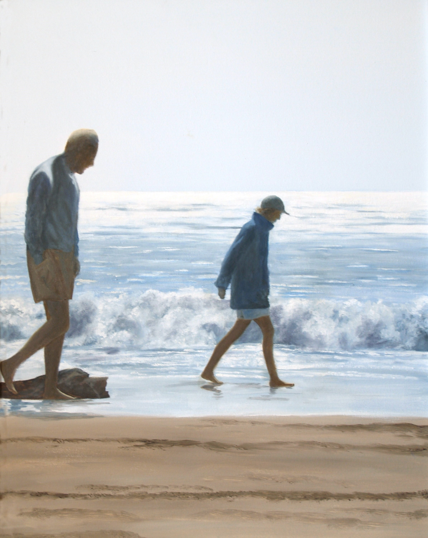 California - A Walk in Winter Sunlight I