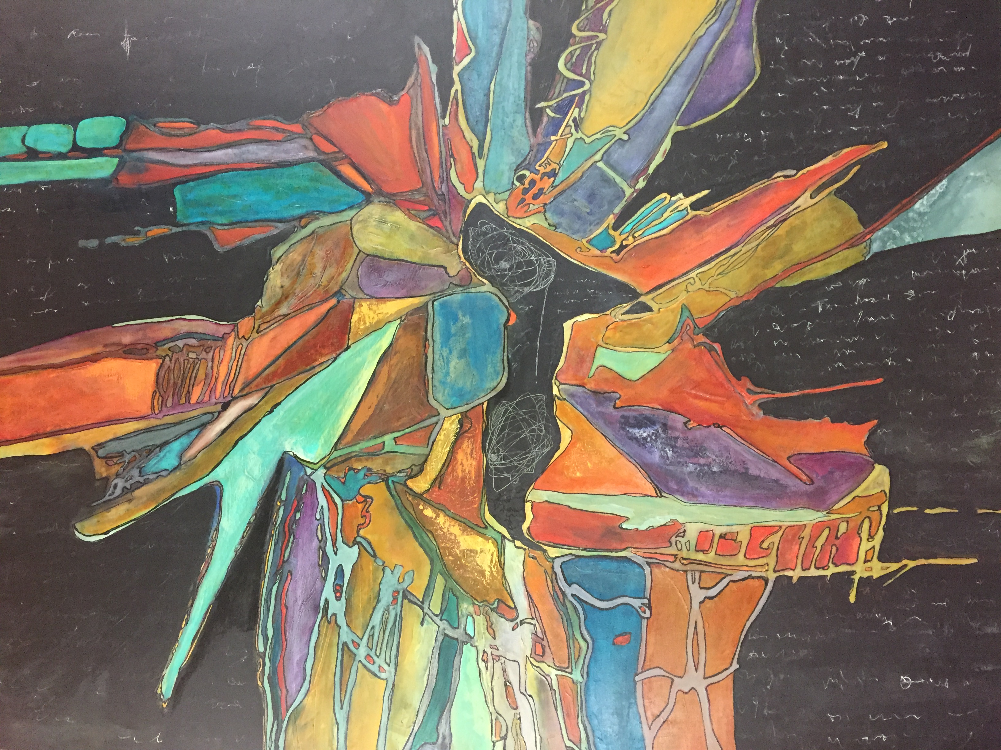 02-Lamoureux Abstract 48x60