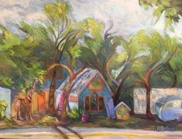 Wimberley Charm-Rebecca Briley-oil-17x24