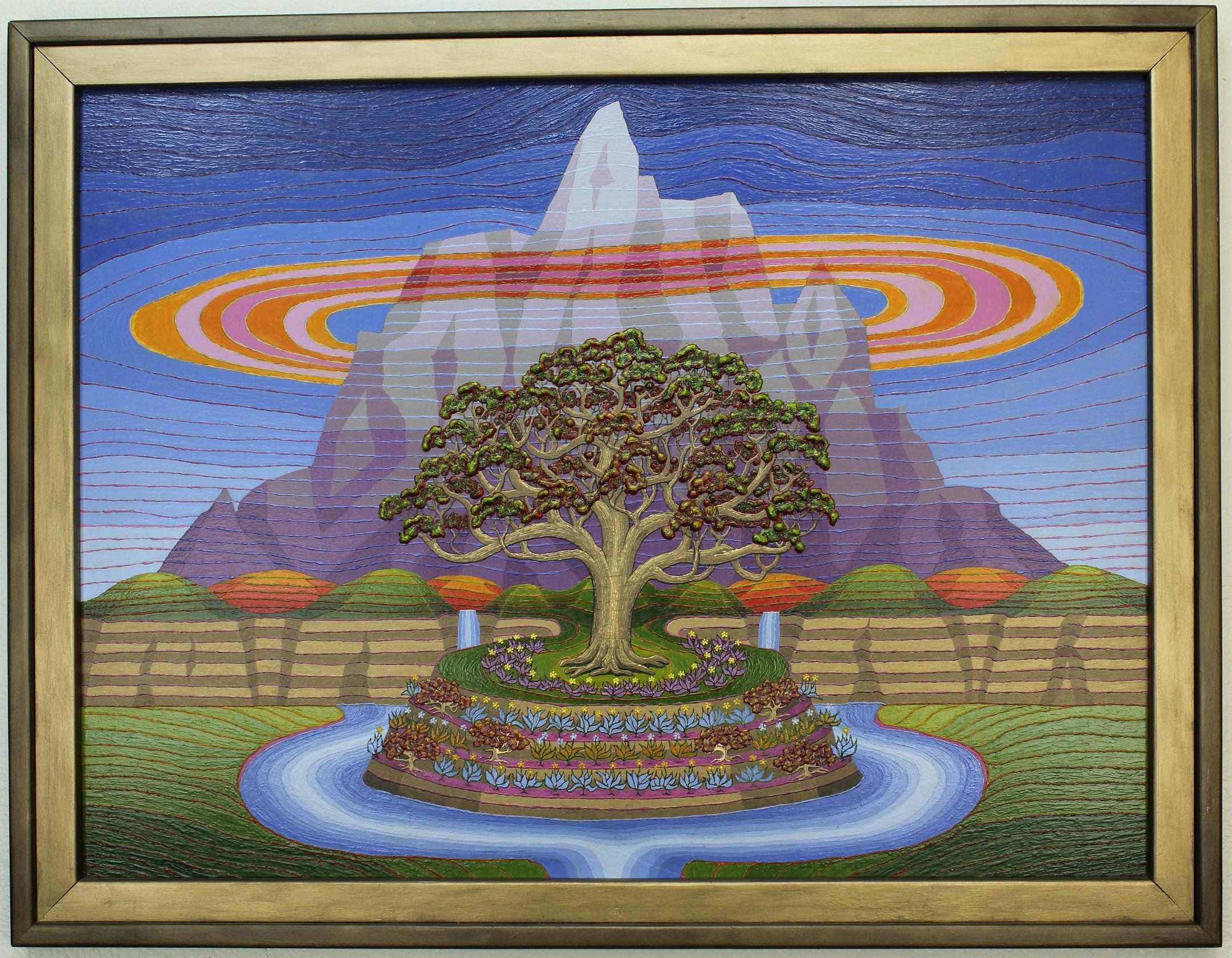 The Tree Near The Mountain (r) - Copy