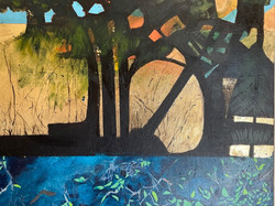 Jean Sander ~ Through the Trees ~ Gold l