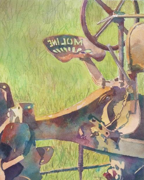 moline - 10x8 - watercolor