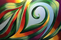 Ginger Heydman ~ Verdant Acrylic  24x30