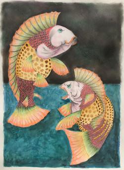 Larry Fick ~ Sol Rio ~ Colored Pencil, W