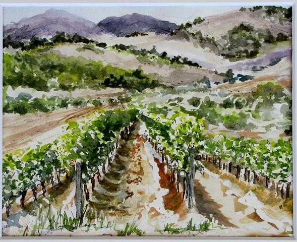 The Vineyard ...watercolor
