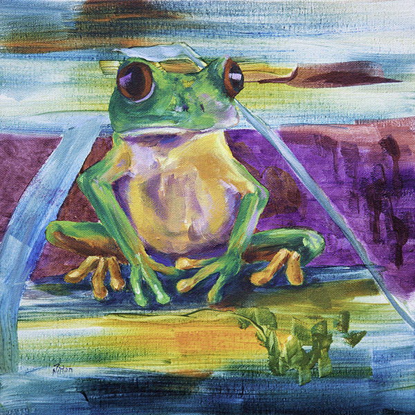 Meditation by Nancy Paton 12x12
